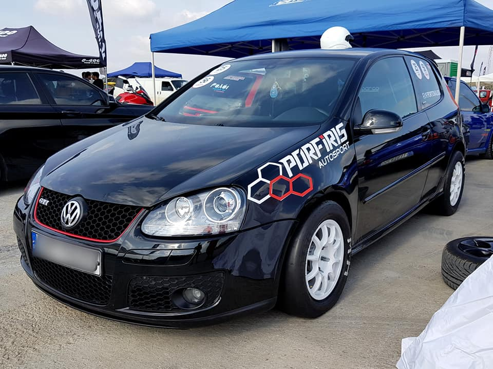 Golf V GTI runs 9.7sec @ Greek Dragster Championship